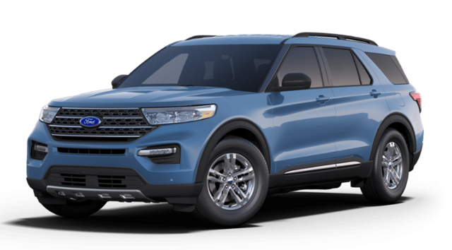 New 2020 Ford Explorer XLT Sport Utility for sale or lease in Kittanning, PA